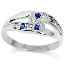 SARITA Silver Sapphire Ring