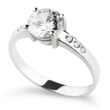 GEORGETTE silver ring