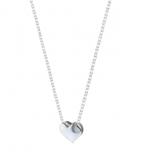 ETERNAL LOVE Heart Charm and Chain
