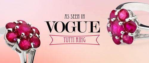 As seen in Vogue - Tutti ring