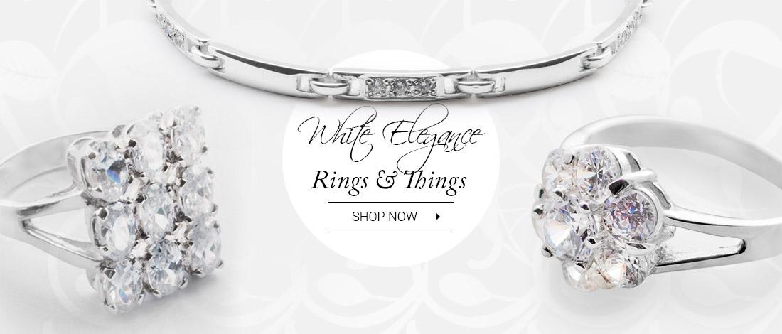 White elegance you'll love!