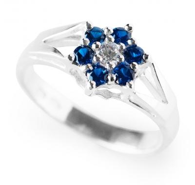 BLUE JASMINE Silver Ring