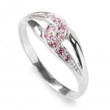 PINK SARITA Silver Ring