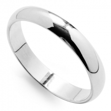 AVENIR Silver 3.5mm Band Ring