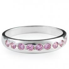 PINK SACHA Silver Ring
