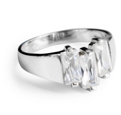 WHITE HAZEL Silver Ring