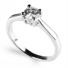 WHITE ARDEN Silver Ring