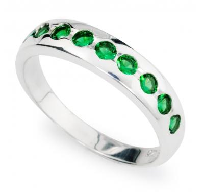 GREEN SACHA Silver Ring
