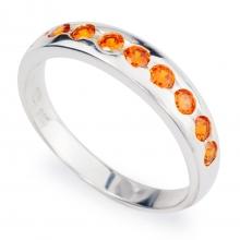 ORANGE SACHA Silver Ring