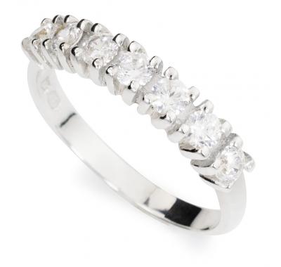 WHITE LORI Silver Ring