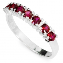 RED LORI Silver Ring