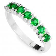 GREEN LORI Silver Ring