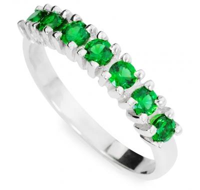 GREEN LORI Silver Ring