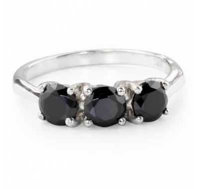 BLACK ALPIN Silver Ring