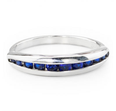 BLUE ONZE Silver Ring