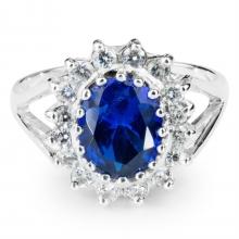 BLUE MIZUMI Silver Ring