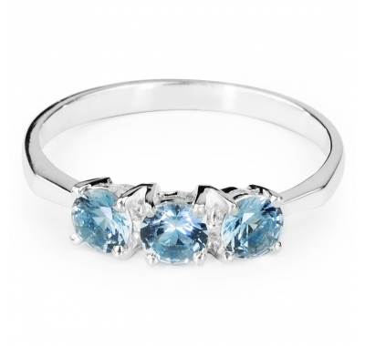 AQUAMARINE ALPIN Ring