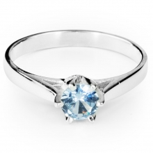 AQUAMARINE TIAMO Ring