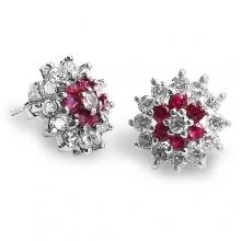 KAZUMI Silver Stud Earrings