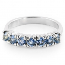 AQUAMARINE LORI Silver Ring