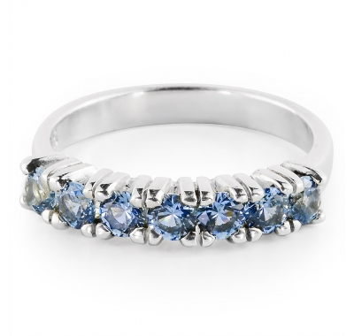 AQUAMARINE LORI Silver Ring