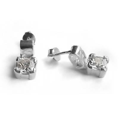 SOLIS Silver Earrings