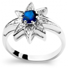 STAR Nickel-Free Silver Ring