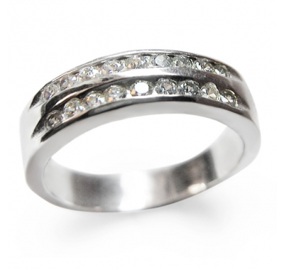 SEVANTI Silver Ring