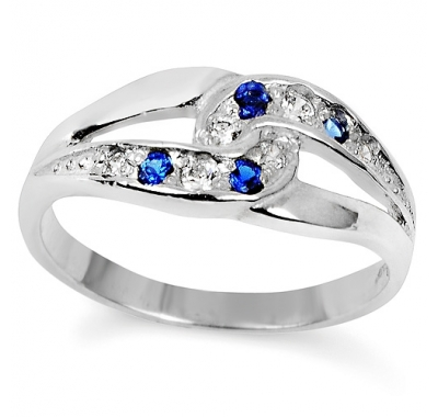 BLUE SARITA Silver Ring
