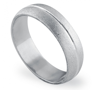 ADORATION 5.5mm Wide Wedding Ring