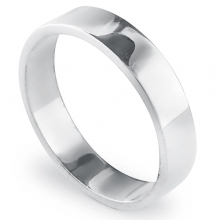 AFFECTION 4.5mm Silver Band