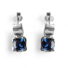 RIO Silver Sapphire Earrings