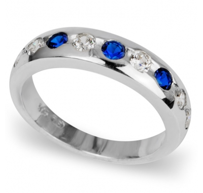 BLUE SACHA Silver Ring
