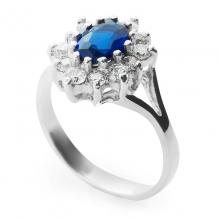 AMIRRA Sapphire Silver Ring