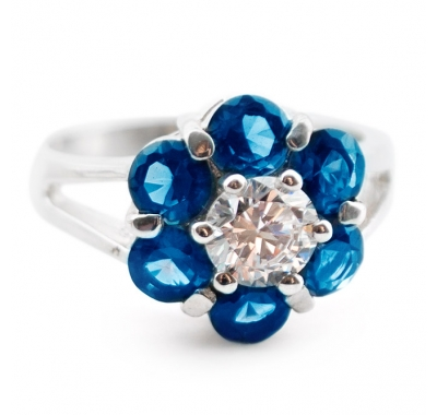 ORCHID Silver Ring