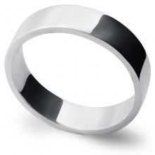 AFFECTION 5.5mm Silver Band