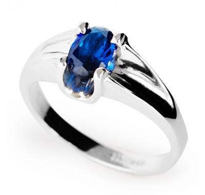 KIM Sapphire Silver Ring