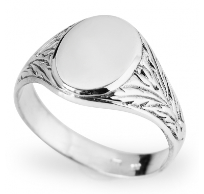 il rings unique mens wedding ideas jewellery ring fingerprint engagement