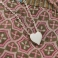 ETERNAL LOVE Heart Charm and Chain