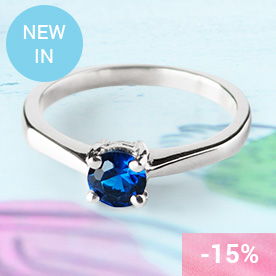 BLUE ARDEN Silver Ring