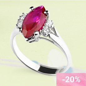 CALIENTE Silver Ring