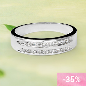 SEVANTI Silver Ring