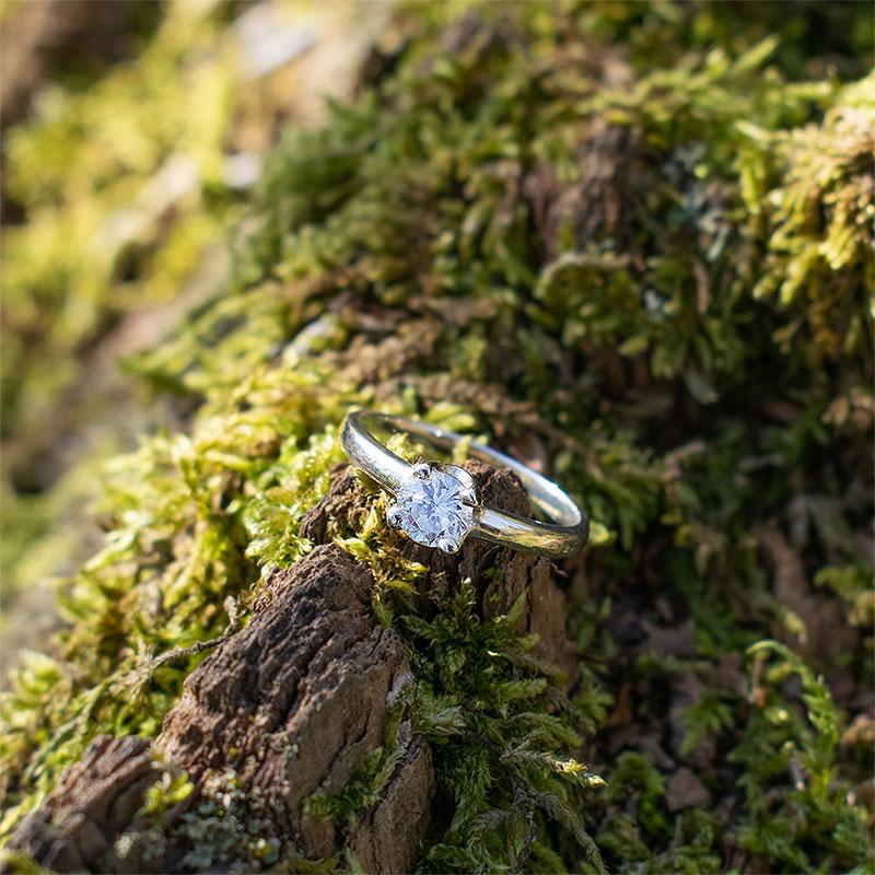 SCARLETT Silver Ring