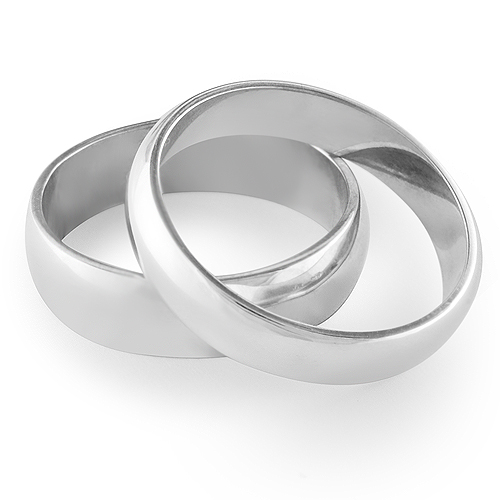 AVENIR His & Hers Wedding Ring Set