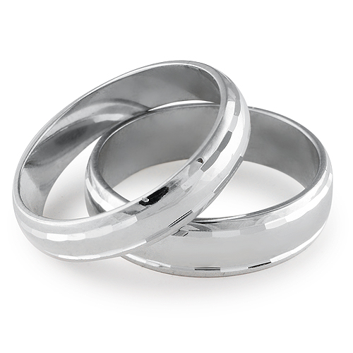 DESTINY His & Hers Wedding Ring Set