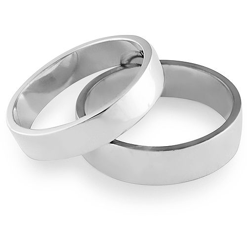 AFFECTION His & Hers Wedding Ring Set