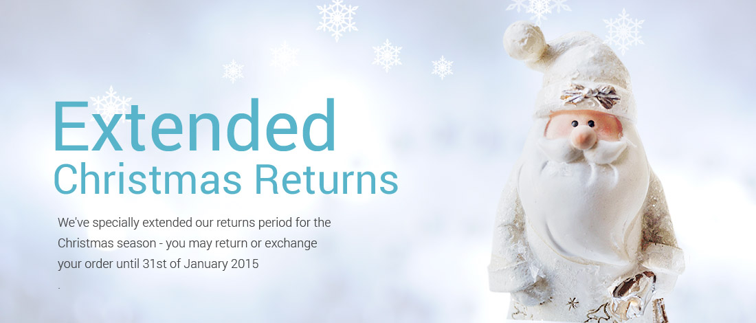 Extended Christmas Returns Policy