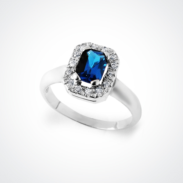 FREA Sapphire Silver Ring