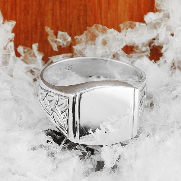 MAGNUS Silver Signet Ring