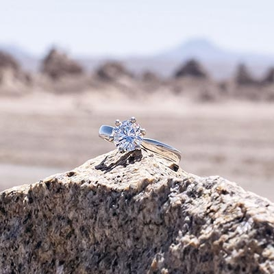 GINA Silver Ring